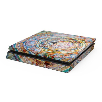 Sony PS4 Slim Skin - Mystical Medallion