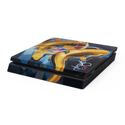 Sony PS4 Slim Skin - Namazu and Koi