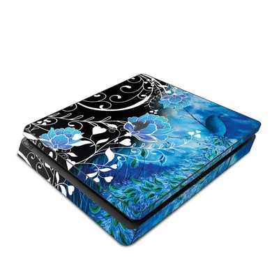 Sony PS4 Slim Skin - Peacock Sky