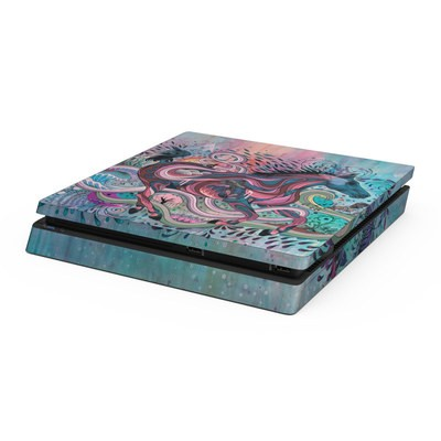 Sony PS4 Slim Skin - Poetry in Motion