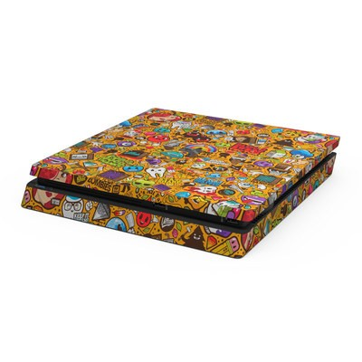 Sony PS4 Slim Skin - Psychedelic