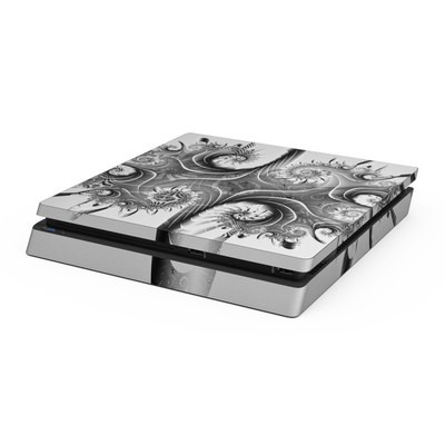 Sony PS4 Slim Skin - Rorschach