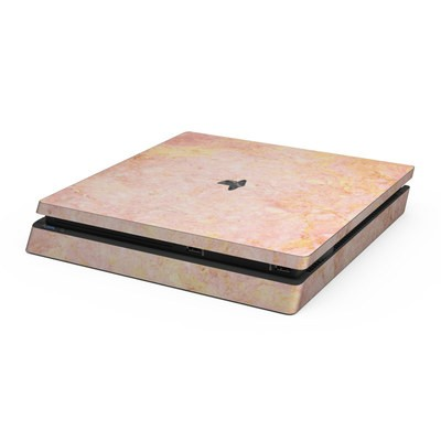 Sony PS4 Slim Skin - Rose Gold Marble
