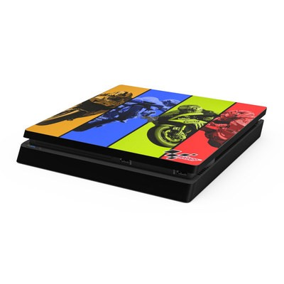 Sony PS4 Slim Skin - Race Panels