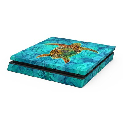 Sony PS4 Slim Skin - Sacred Honu