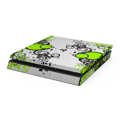 Sony PS4 Slim Skin - Simply Green