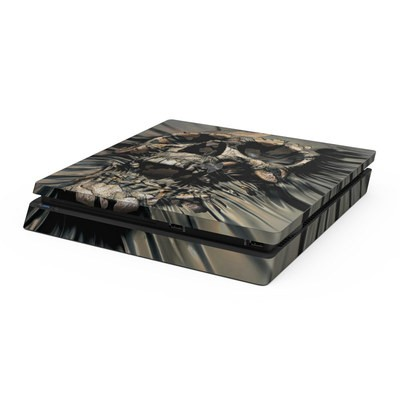 Sony PS4 Slim Skin - Skull Wrap