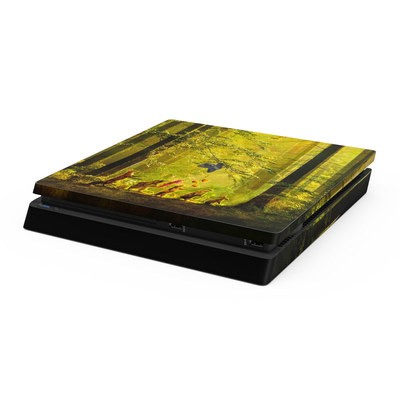 Sony PS4 Slim Skin - Secret Parade