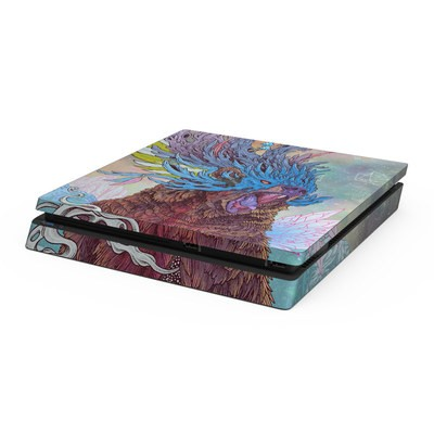 Sony PS4 Slim Skin - Spirit Bear