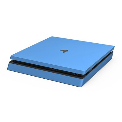Sony PS4 Slim Skin - Solid State Blue