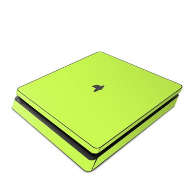 Sony PS4 Slim Skin - Solid State Lime
