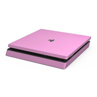 Sony PS4 Slim Skin - Solid State Pink