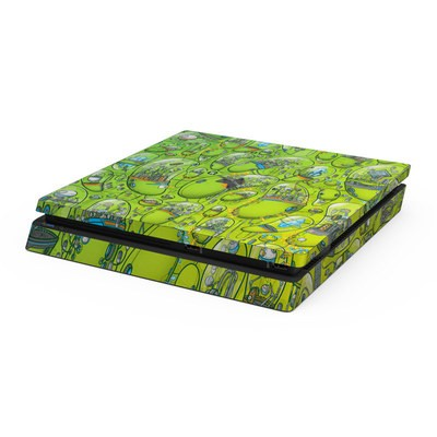 Sony PS4 Slim Skin - The Hive