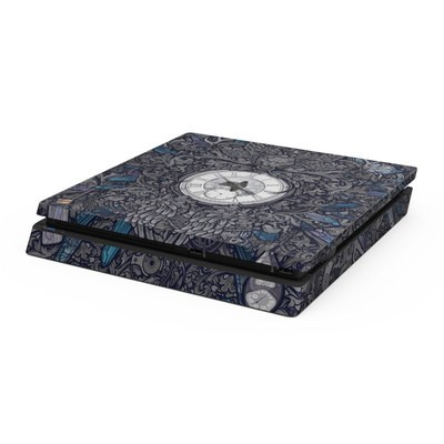 Sony PS4 Slim Skin - Time Travel