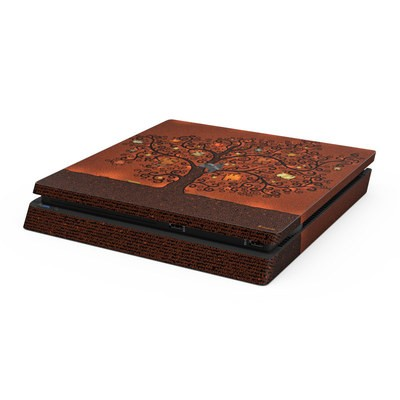 Sony PS4 Slim Skin - Tree Of Books