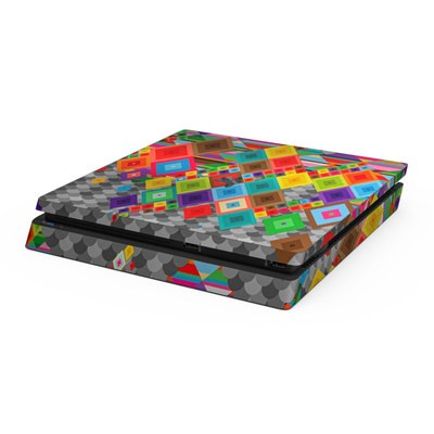 Sony PS4 Slim Skin - Uprising