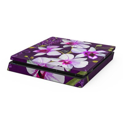 Sony PS4 Slim Skin - Violet Worlds