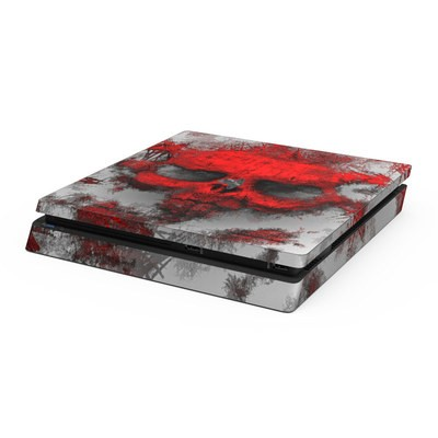 Sony PS4 Slim Skin - War Light