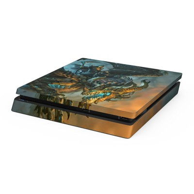 Sony PS4 Slim Skin - Wings of Death