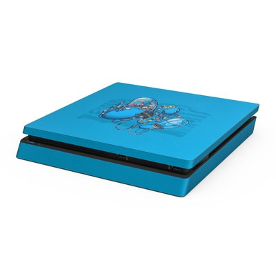 Sony PS4 Slim Skin - Workflow