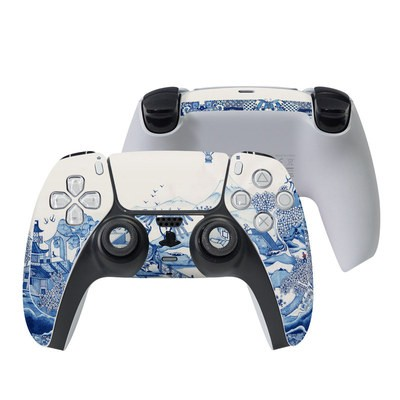 Sony PS5 Controller Skin - Blue Willow