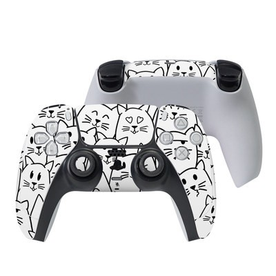 Sony PS5 Controller Skin - Moody Cats