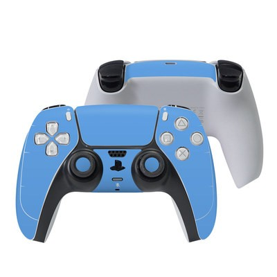 Sony PS5 Controller Skin - Solid State Blue