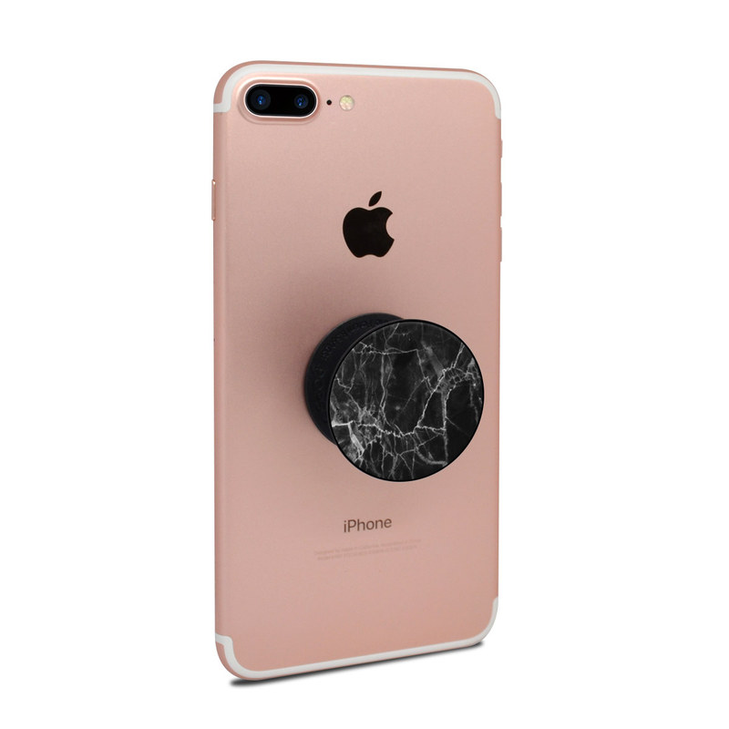 Popsockets Skin Black Marble By Marble Collection