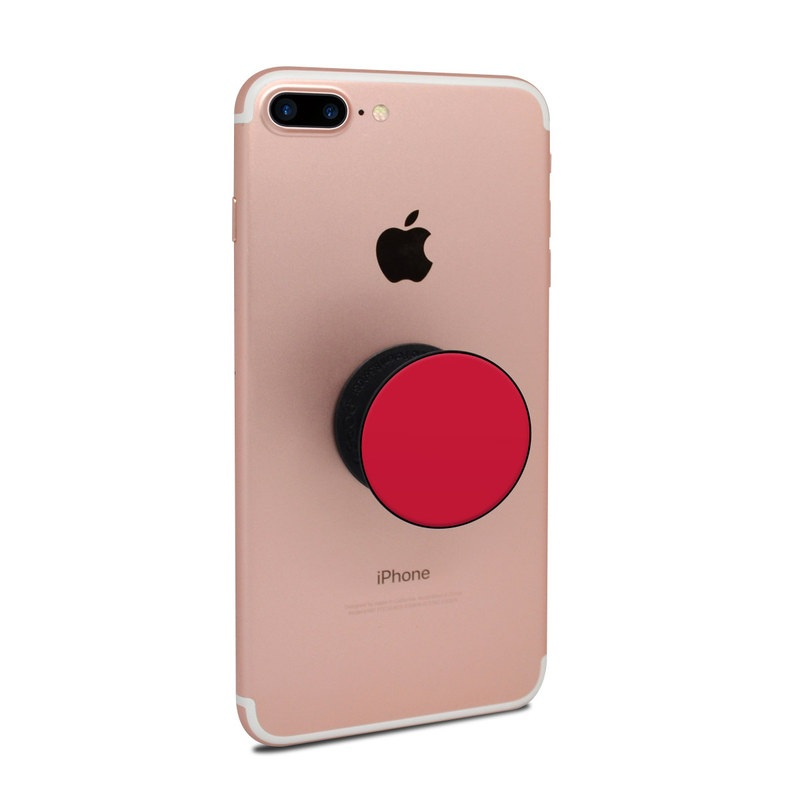 Popsockets Skin - Solid State Red By Solid Colors