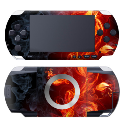 PSP Skin - Flower Of Fire