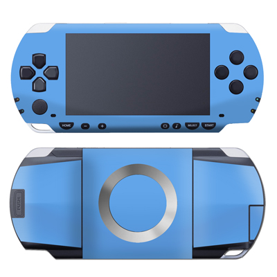 PSP Skin - Solid State Blue