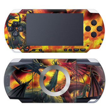 PSP Skin - Dragon Wars
