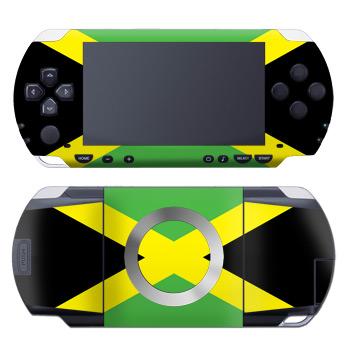 PSP Skin - Jamaican Flag
