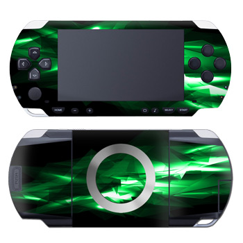 PSP Skin - Kryptonite