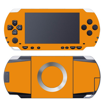 PSP Skin - Solid State Orange