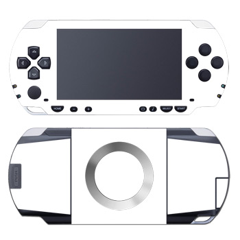 PSP Skin - Solid State White