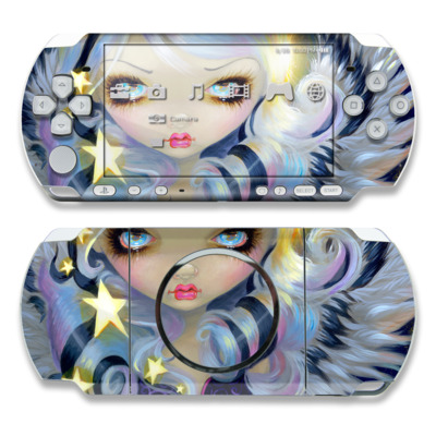 PSP 3000 Skin - Angel Starlight