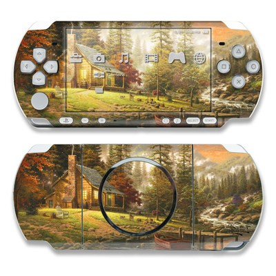 PSP 3000 Skin - A Peaceful Retreat