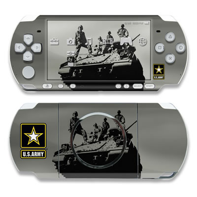 PSP 3000 Skin - Army Troop