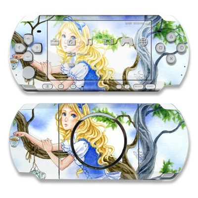 PSP 3000 Skin - Alice's Tea Time