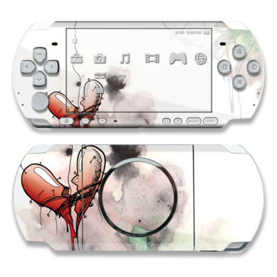 PSP 3000 Skin - Blood Ties