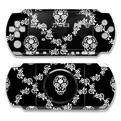 PSP 3000 Skin - Calavera Lattice
