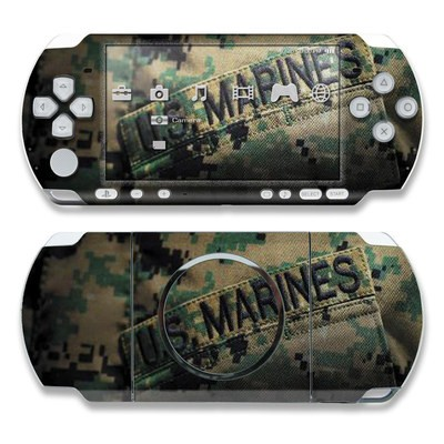 PSP 3000 Skin - Courage