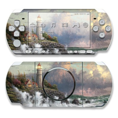 PSP 3000 Skin - Conquering Storms