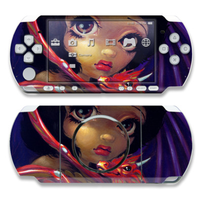 PSP 3000 Skin - Darling Dragonling