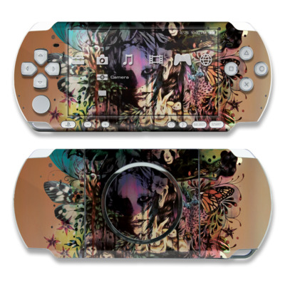 PSP 3000 Skin - Doom and Bloom