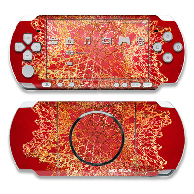 PSP 3000 Skin - Dodecahedron Cage