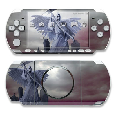 PSP 3000 Skin - Death on Hold