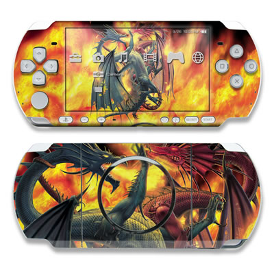 PSP 3000 Skin - Dragon Wars