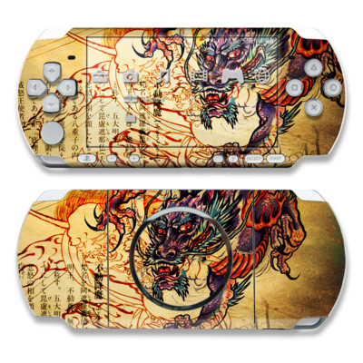 PSP 3000 Skin - Dragon Legend